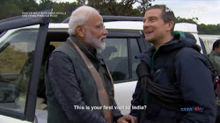 Download Man Vs Wild with Bear Grylls and PM Modi Full Show In Hindi 720p HDTV ESUB | MoviesBaba 3