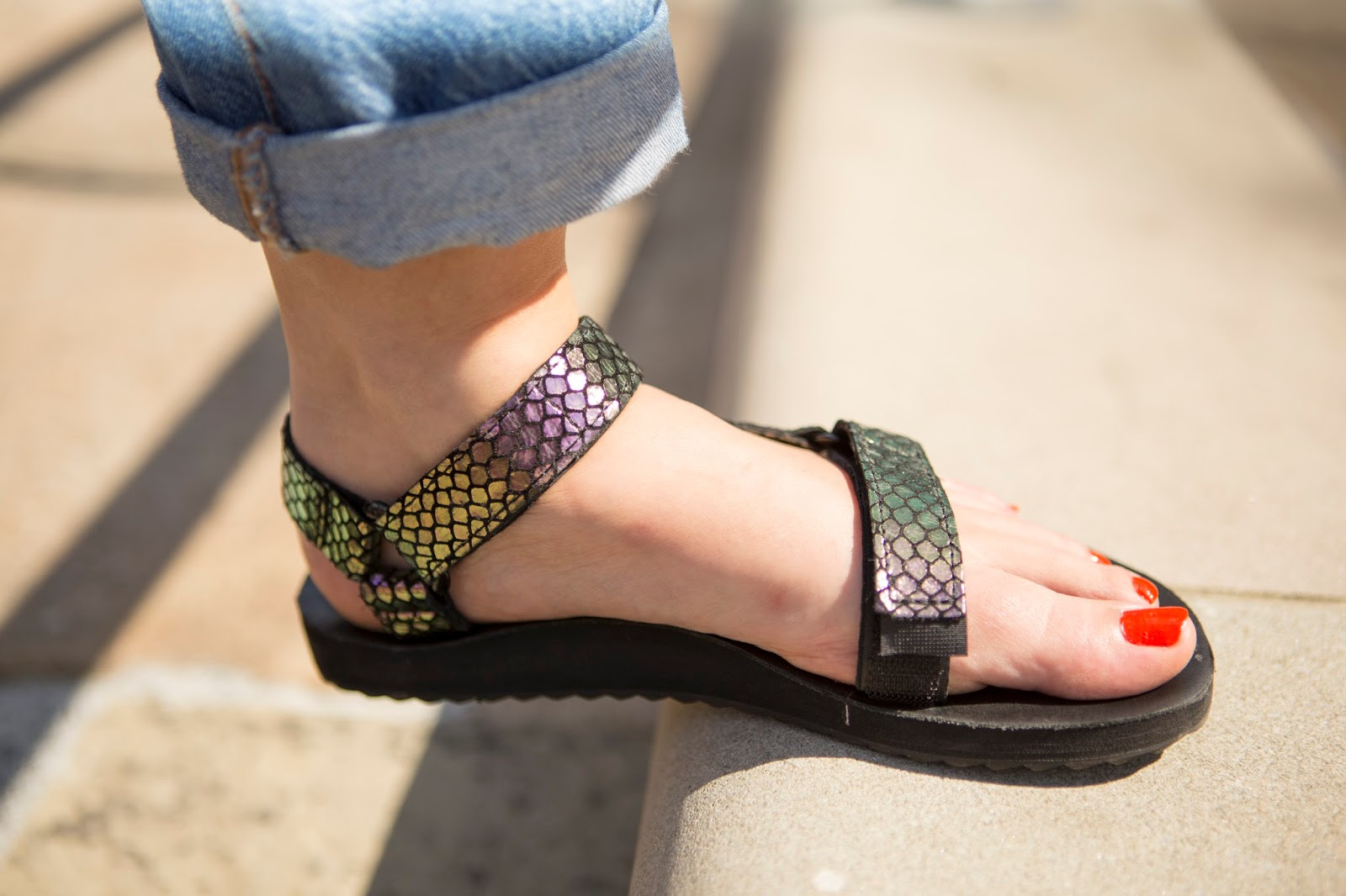 How to Style Teva Sandals
