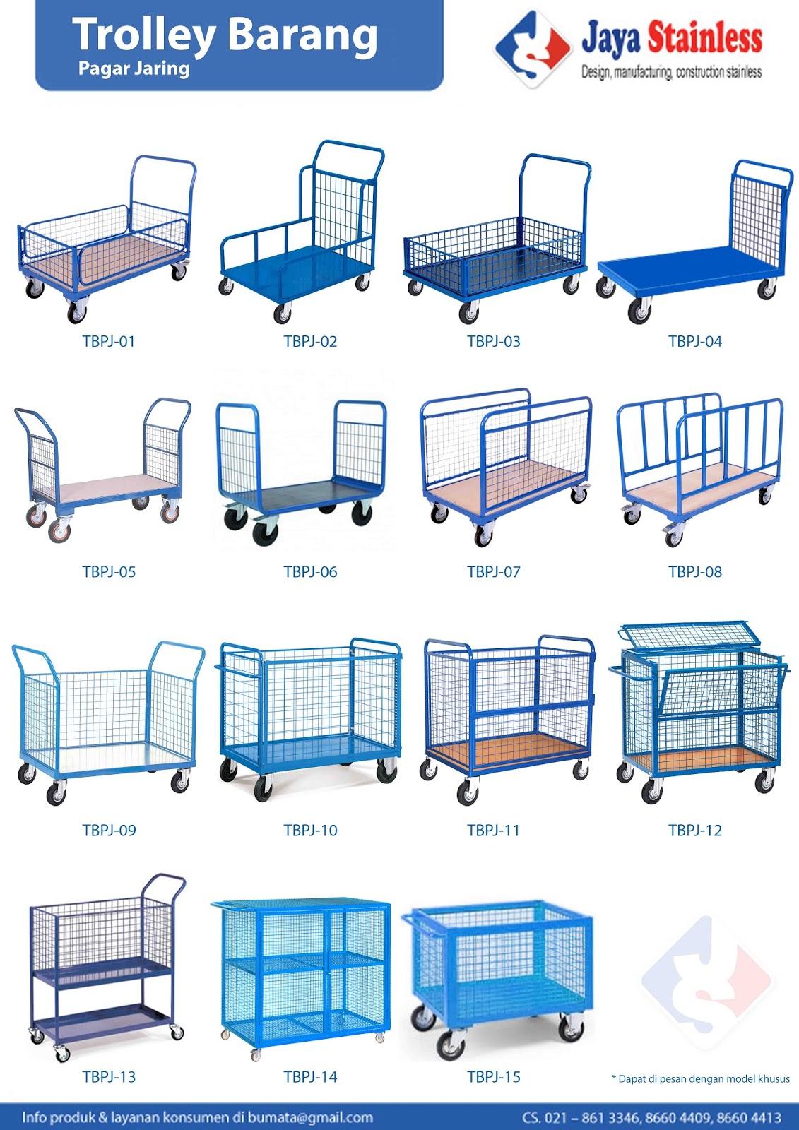 Katalog trolley barang pagar besi