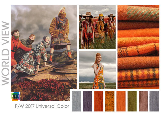 color palette for the f w 2017 18 season women s universal color