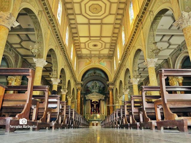 Perspectiva artística do interior da Paróquia São Paulo da Cruz - Igreja do Calvário - Pinheiros - São Paulo