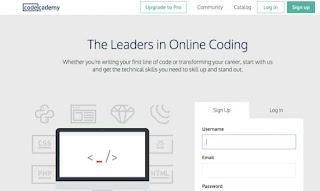 Situs Coding Code Academy