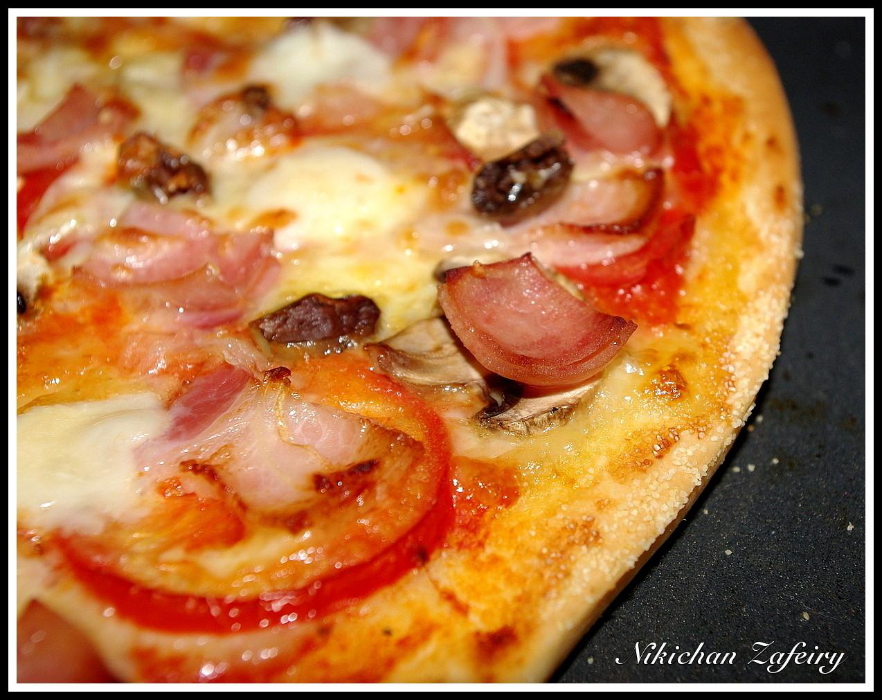 Pizza Con Masa Telepizza Recetas De Una Gatita Enamorada
