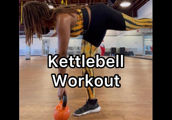 Quick Full Body Kettlebell Workout Video
