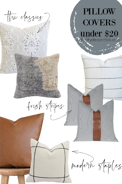 affordable throw pillow covers