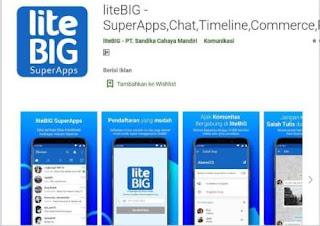 Aplikasi Media Sosial LiteBIG