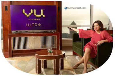 Vu Releases Four 4K Android TV Versions In India With The Starting Price Of Rs.25,999