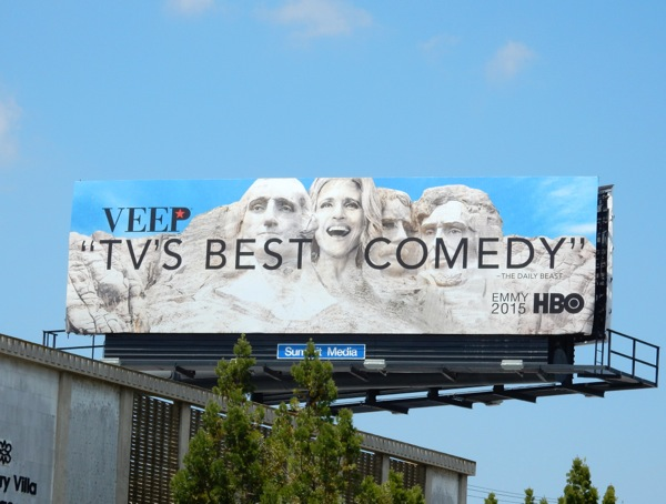 Veep season 4 Emmy 2015 billboard