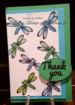 Diecut Divas, Bugaboo Stamps Dragonflies, Bugaboo Stamps Dragonfly