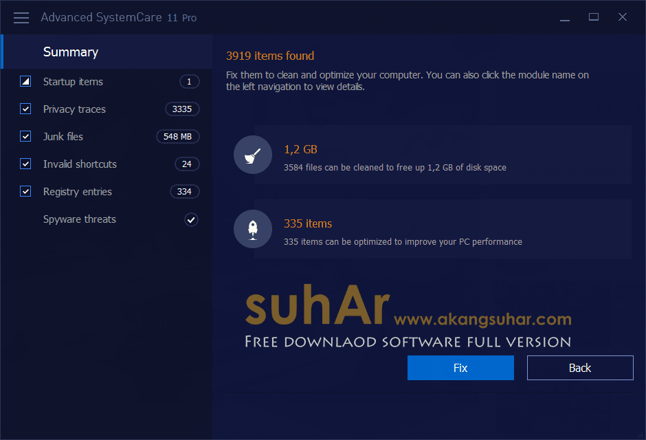 Gratis Download Advanced SystemCare Pro Full Crack Terbaru, Advanced SystemCare Pro Full Registration Code, Advanced SystemCare Pro Full Keygen, Advanced SystemCare Pro Full Patch