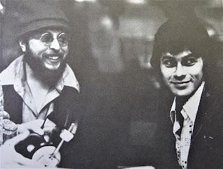 Hirth Martinez with Robbie Robertson