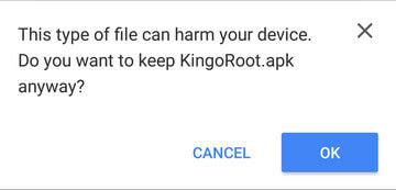 تثبيت KingoRoot.apk