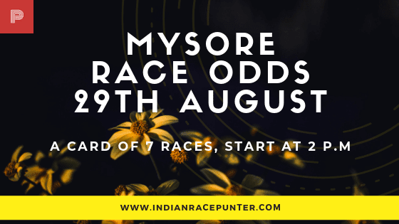 Mysore  Race Odds, free indian horse racing tips, trackeagle,  racingpulse, racing pulse