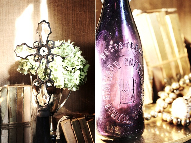 Purple, Cross Bottles, Crosses on Bottles, Crystal Cross Bottles