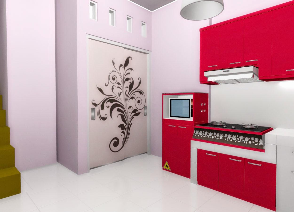 Tren Desain Kitchen Set 2015 - 2016 - Desain Furniture Interior Semarang