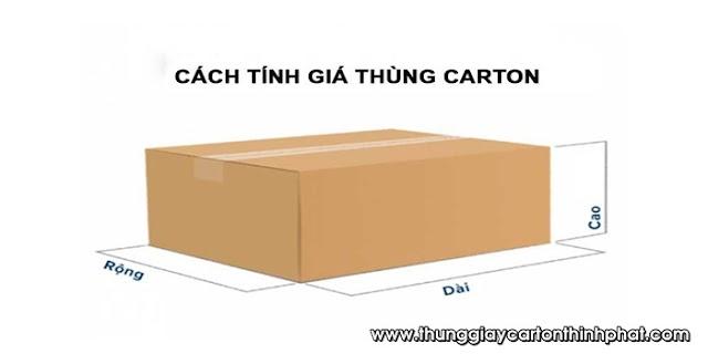 Quy tắc tính giá thùng Carton