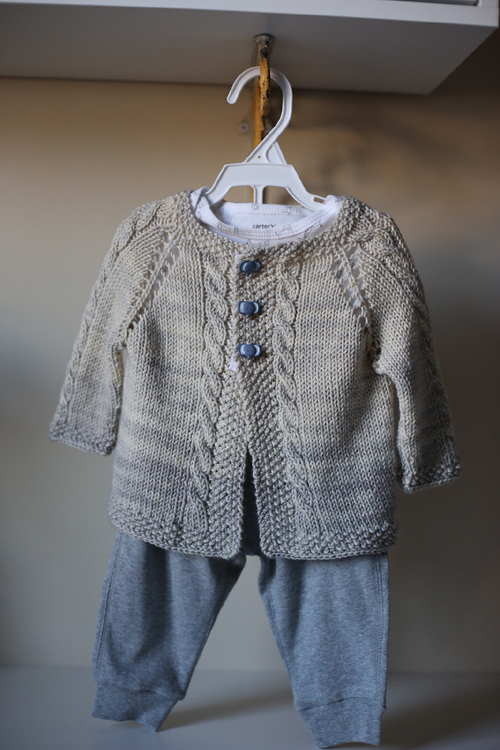 Vintage Cardigan - Knitting Pattern