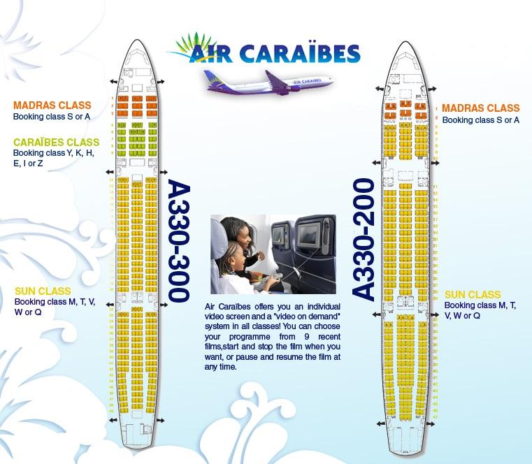 Voyager en classe caraibes air caraibes air - Vol paris port au prince air caraibes ...
