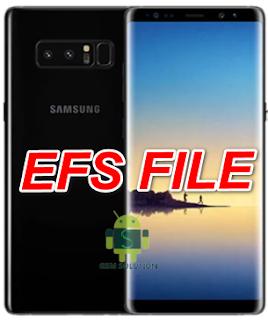 Samsung Note 8 SM-N950N U3-U4-U5 efs file