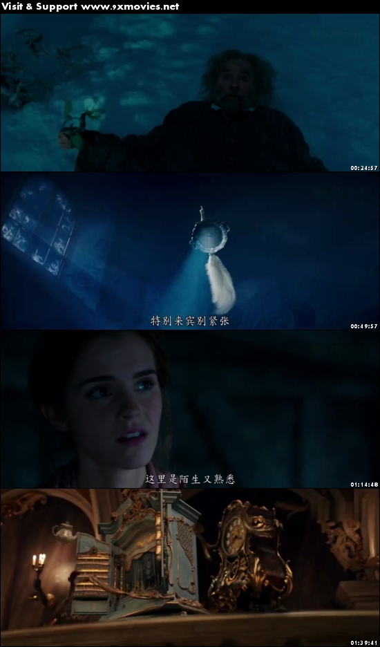 Beauty And The Beast 2017 English 720p HC