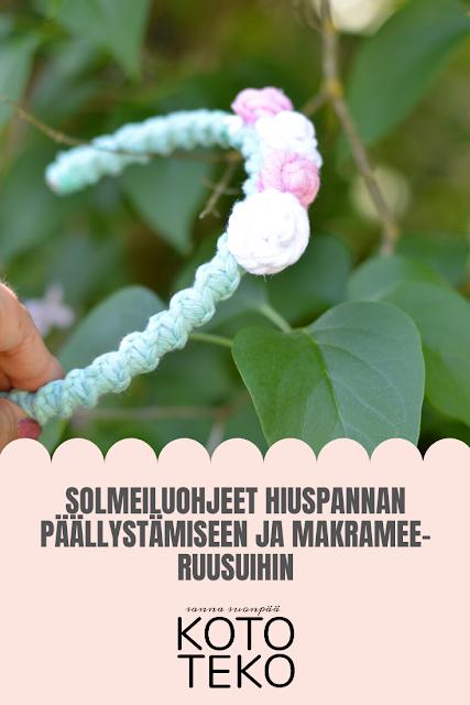 SOLMEILUOHJE HIUSPANTAAN JA MAKRAMEERUUSUIHIN