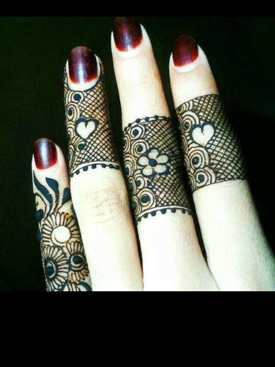 Mehndi Designs For Fingers S : Best jaali mehndi designs to try this eid bling sparkle