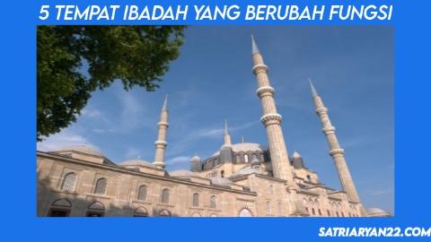 Selain Hagia Sophia, 5 Tempat Ibadah Ini Pernah Berubah Fungsi