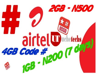 Airtel Cheap Data Plans (September)