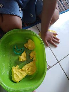 Resep playdough homemade
