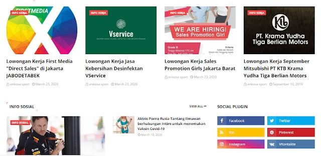 infoaja.my.id website tentang dunia blogging yang perlu di kunjungi (Review)