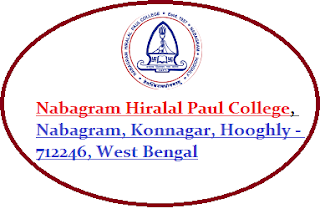 Nabagram Hiralal Paul College, Nabagram, Konnagar, Hooghly - 712246, West Bengal