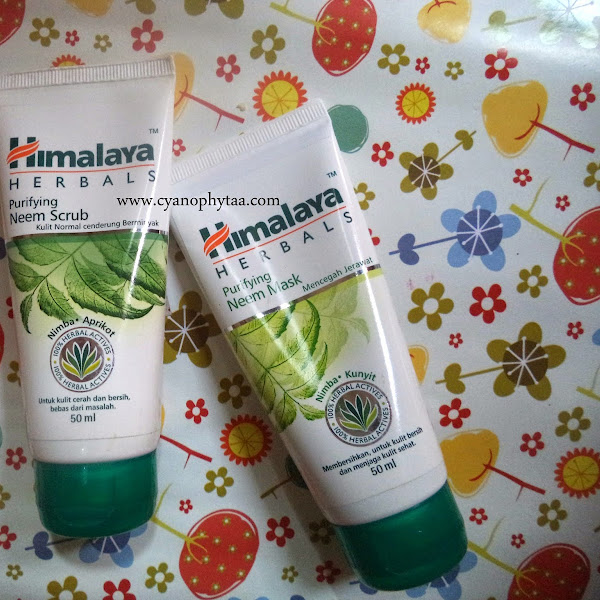 Review Himalaya Herbals Purifying Neem Scrub & Mask