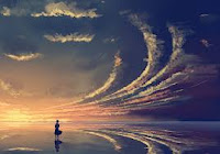 【原創】715 《天淨沙.夢鄉》/次韻夫子 - 沧海一粟 - 滄海中的一粒粟子