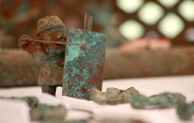 Wari ceremonial offerings from Pikillaqta presented in Cusco