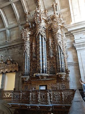 Órgão Ibérico na Igreja de São Bento da Vitória