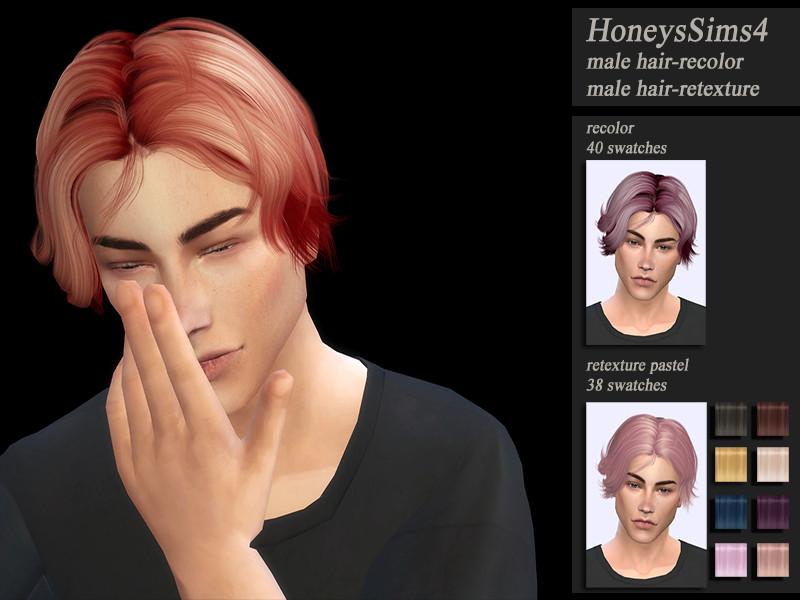 Clásico y sencillo mods sims 4 peinados Imagen de cortes de pelo tutoriales - Sims 4: Mod, Nuevo peinado - Nevi Games