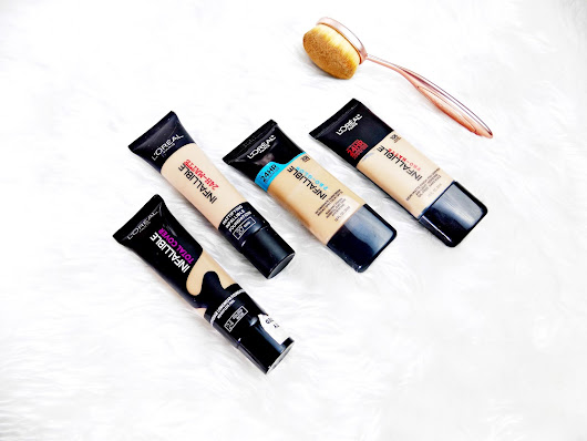 The L'Oreal Infallible's - Which one is right for you?