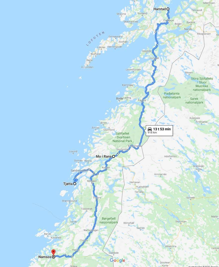 Davas To The North In Finland And In Norway Adventure Rider