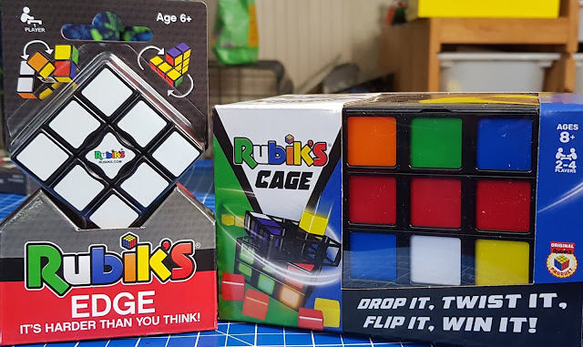 Rubik's Edge and Rubik's Cage in box