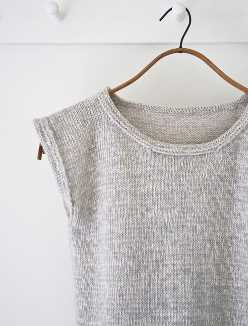 DIY Knitted Top - Tutorial
