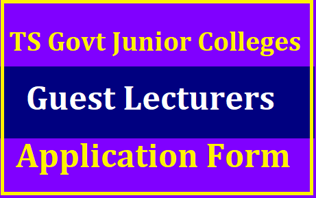TS Junior College Guest Lecturers Application Form- Apply Online @ cie.telangana.gov.in Notification for Guest Lecturers in Telangana Govt Junior Colleges on contract basis for the Academic year 2019-20 . Board of Intermediate Education Telangana State is Inviting Online Application Forms for Various Junior Lecturers vacancies in TS Government Junior Colleges through out the Telangana Districts TS Government Junior Colleges Guest Lecturers Application Form Submit Online here at Official website www.cie.telanngana.gov.in. telangana-junior-college-guest-lecturers-online-application-form-submission-apply-online-cie.telangana.gov.in/2019/07/TS-telangana-junior-college-guest-lecturers-online-application-form-submission-apply-online-cie.telangana.gov.in.html