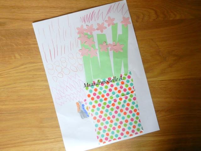|| Activité : Bouquet de fleurs en papier