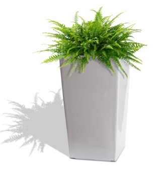 Algreen Products 11404 Self Watering Square Modena Planter