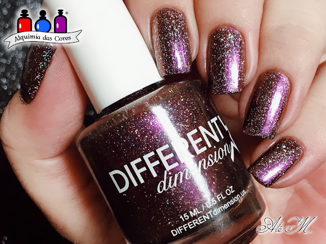 Different Dimension, Equinox, Holografico, Roxo, Multichrome, The Extragalactic Collection, Alê M 2018