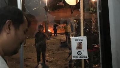 Basecamp Suporter PSM Makassar di Jakarta Diserang, Cafe dan Motor Dilempari Batu