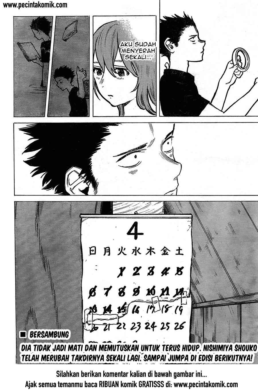 Koe no Katachi Chapter 07-26
