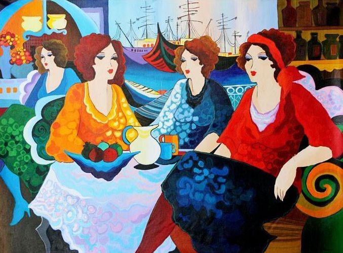 Изысканные картины с восхитительными женщинами