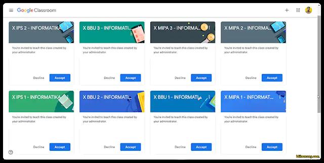 Cara Memindahkan Kelas Google Classroom ke Akun Gmail/Belajar.id