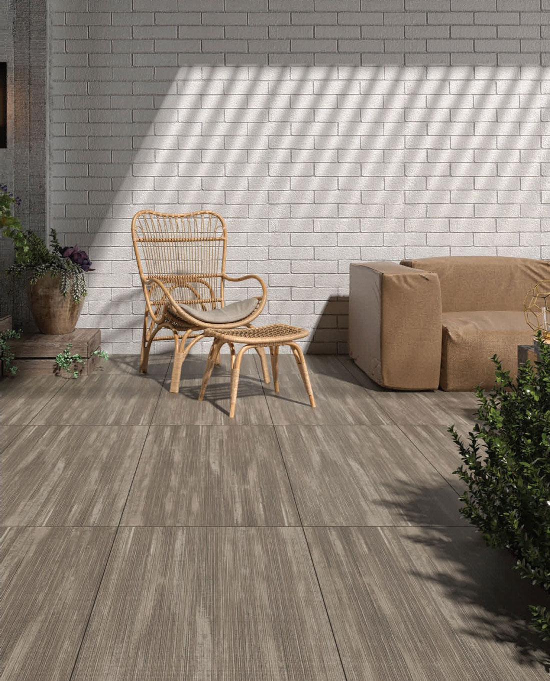 Outdoor Wood Look Tile