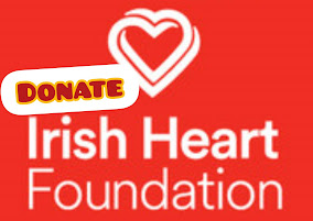 WE ARE CYCLING THE LENGTH OF IRELAND FOR THE IRISH HEART FOUNDATION